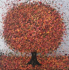 Nicky Chubb, Silver Morning in Autumn III, Contemporary Art, Affordable Art