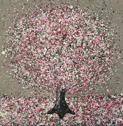 Nicky Chubb, Spring Sunshine, Original Painting, Affordable Contemporary Art