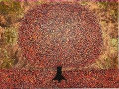 Nicky Chubb, Sunset Bliss, Original Painting, Affordable Art, Landscape Art