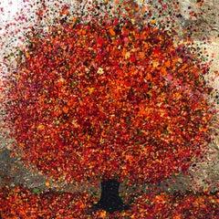 Nicky Chubb, Tumbling Autumn Colours, Bright Art