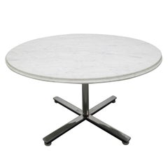 Nico Zographos Marble Top Coffee Table