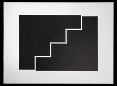 Saw - Original Lithograph by Nicola Carrino - 1970 ca.
