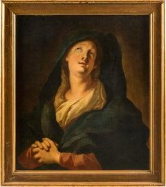 18th century Italian figurative painting - Mary Magdalene - Venice oil on canvas