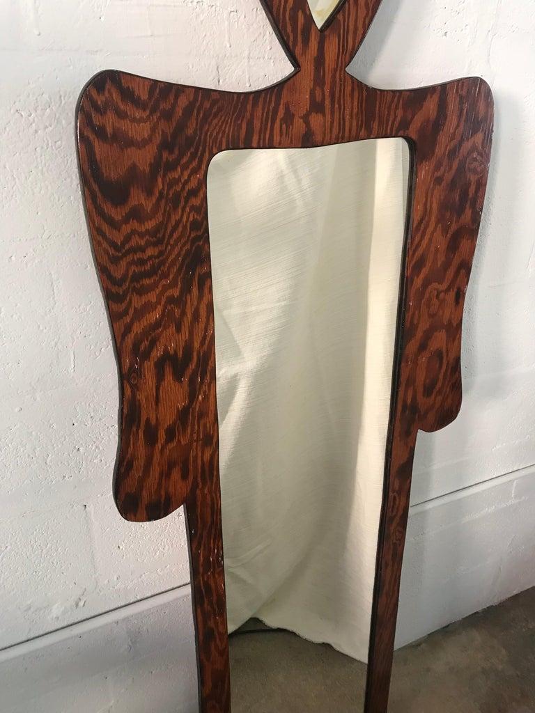 Nicola L Style Figural Mirror For Sale 1