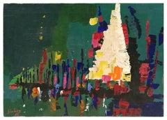 Nocturne - Original Oil Paint by Nicola Simbari