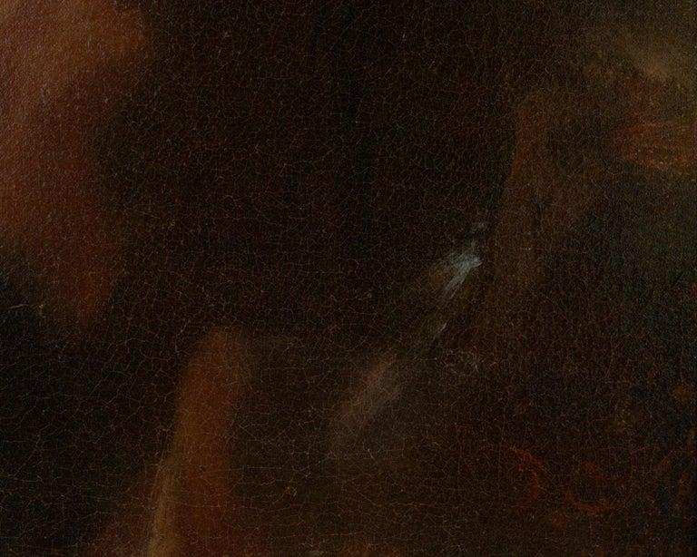 Portrait of Noble Lady - Black Portrait Painting by Nicolaes Maes