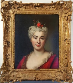 Portrait Of Elisabeth Marguerite, The Artist's Daughter with Tiara