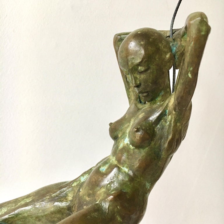 Nicolas Lavarenne Bronze Titled Petit Abandon, 2013 In Excellent Condition For Sale In London, GB