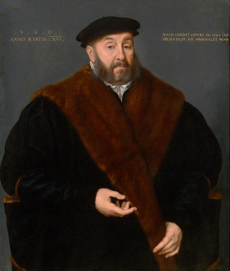 <i>Portrait of Valentin Kötzler</i>, 1564, by Nicolas Neufchatel, offered by M.S. Rau