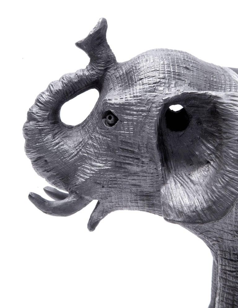 12'' Elefantes / Ceramics Mexican Folk Art Mata Ortiz For Sale 2