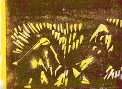 Composition - Original Lithograph - Mid-20th Century