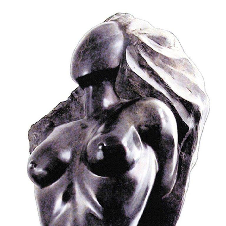 Elegance - 21st Century Contemporary Bronze on Granite Base Nude Sculpture  For Sale 2
