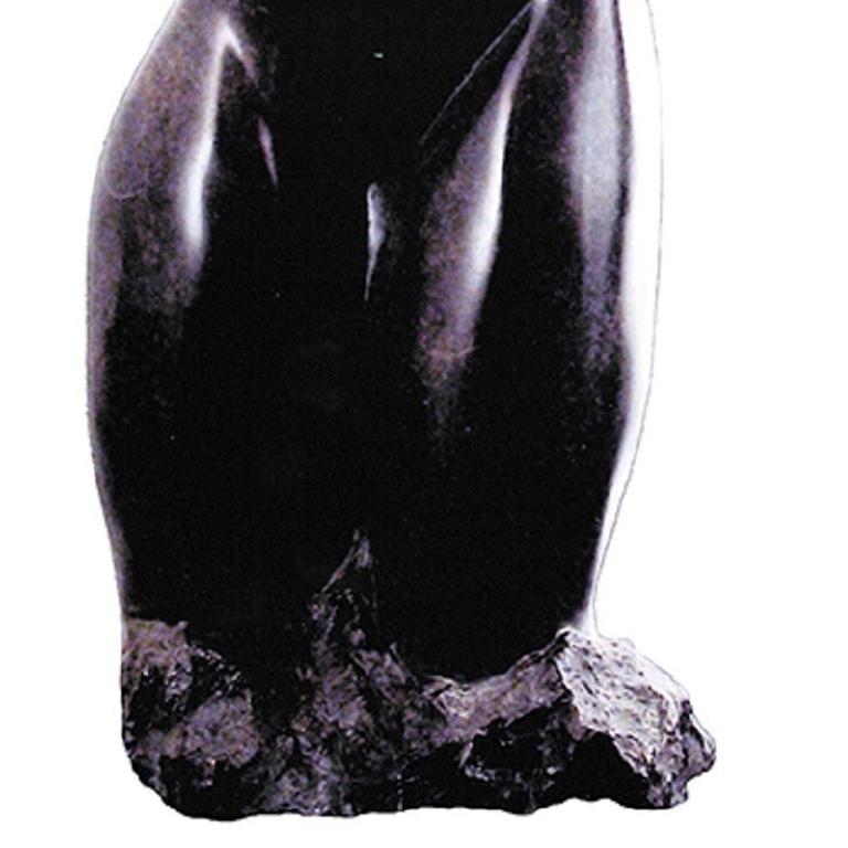 Elegance - 21st Century Contemporary Bronze on Granite Base Nude Sculpture  For Sale 3