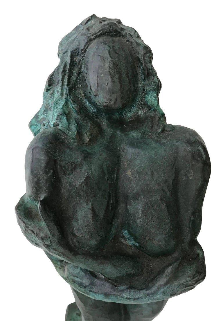 Nude Woman; Nicole Durand (French 1957); bronze with patina; For Sale 1