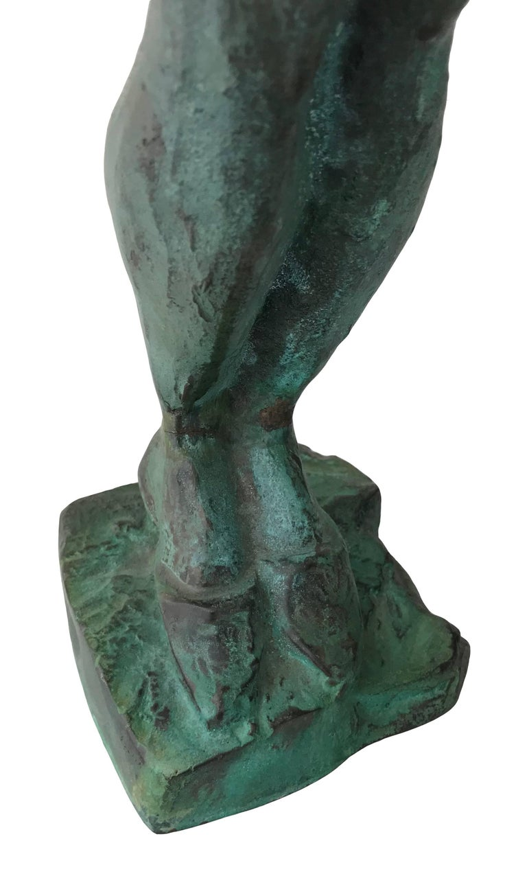 Nude Woman; Nicole Durand (French 1957); bronze with patina; For Sale 2