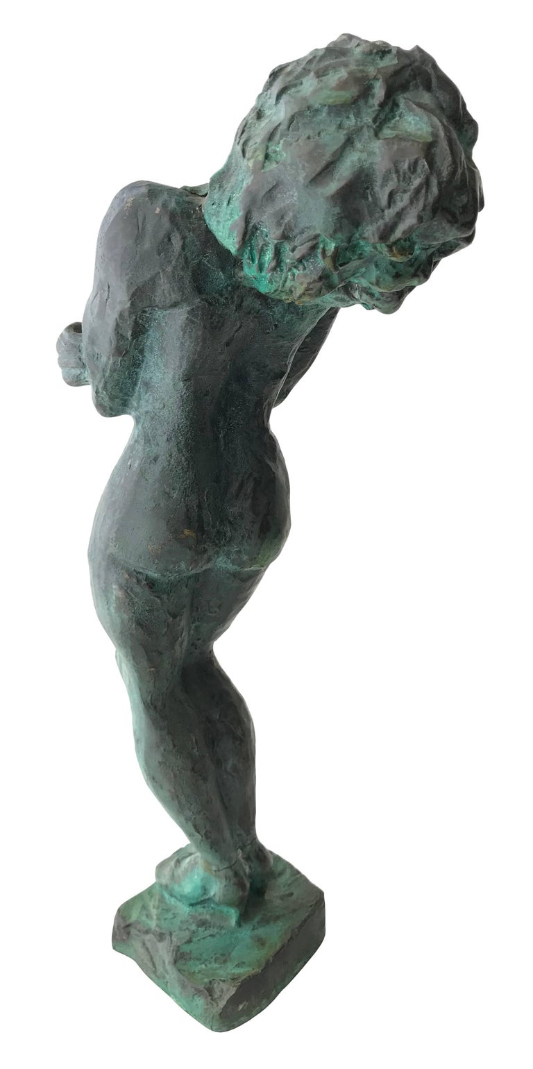 Nude Woman; Nicole Durand (French 1957); bronze with patina; For Sale 3