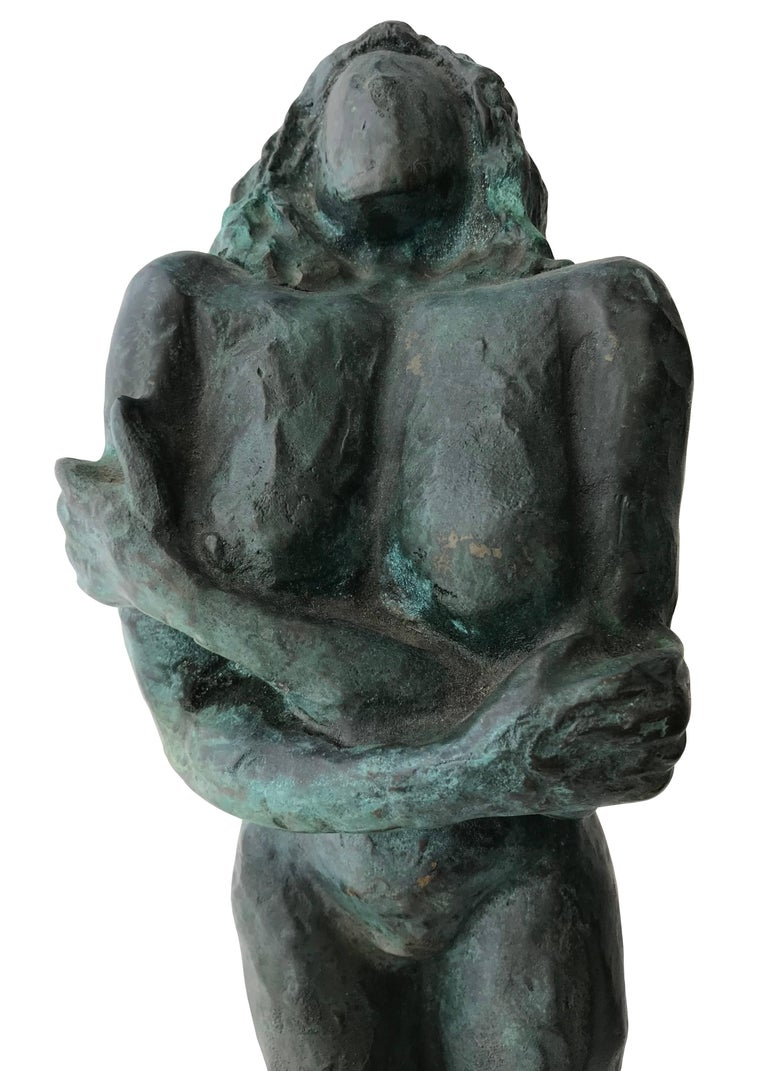 Nude Woman; Nicole Durand (French 1957); bronze with patina; For Sale 5