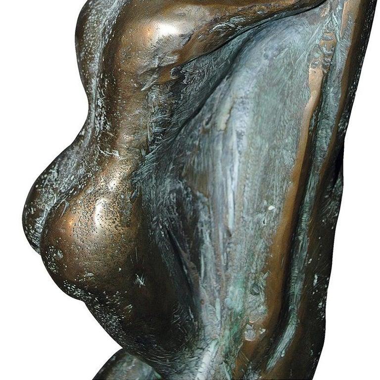 The Unknown - 21st Century Contemporary  Figurative Nude Bronze Sculpture  For Sale 3
