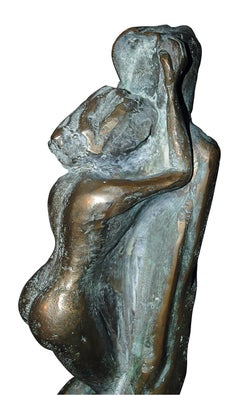 The Unknown - 21st Century Contemporary  Figurative Nude Bronze Sculpture