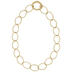 Nicolis Cola Gold Link Necklace