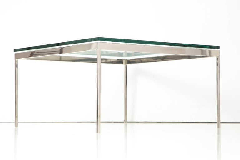 Minimalist Nicos Zographos 35 Series Cocktail Table For Sale