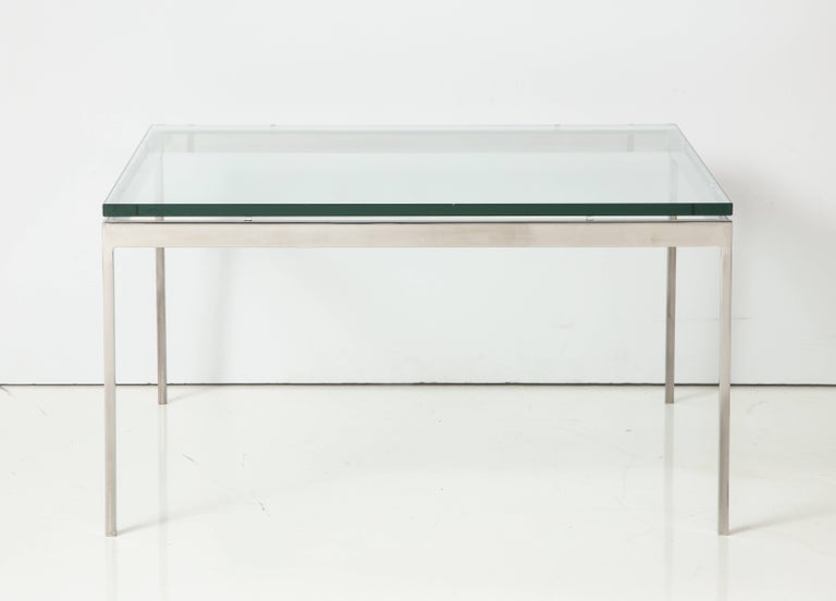 American Nicos Zographos 35 Series Cocktail Table For Sale