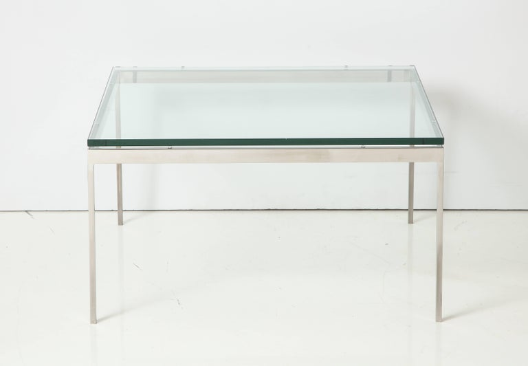 Nicos Zographos 35 Series Cocktail Table In Good Condition For Sale In New York, NY