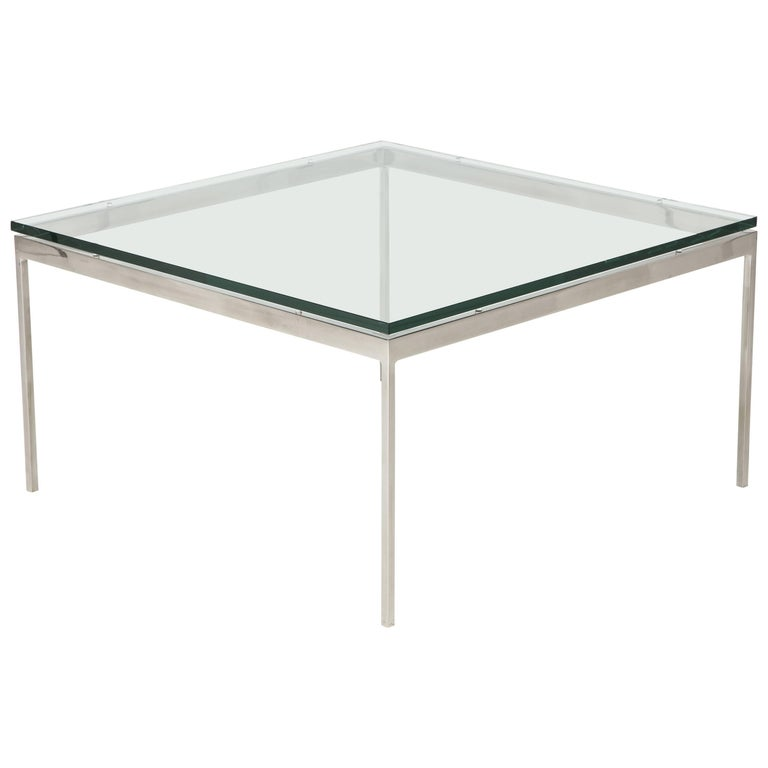 Nicos Zographos 35 Series Cocktail Table For Sale