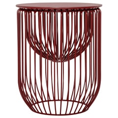 Nido Stool in Red Wine