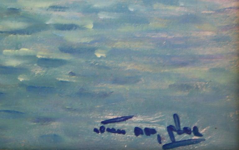 Niek van der Plas, Venise, Oil on Canvas In Excellent Condition For Sale In Lantau, HK