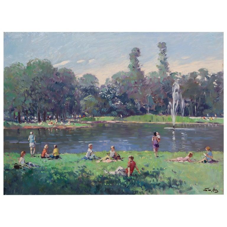 Niek Van Der Plas, Weekend Park Day For Sale