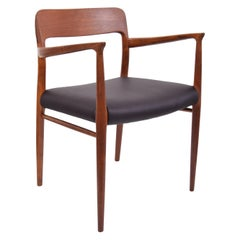 Niel Moller Model 56 Armchair in Edelman Leather
