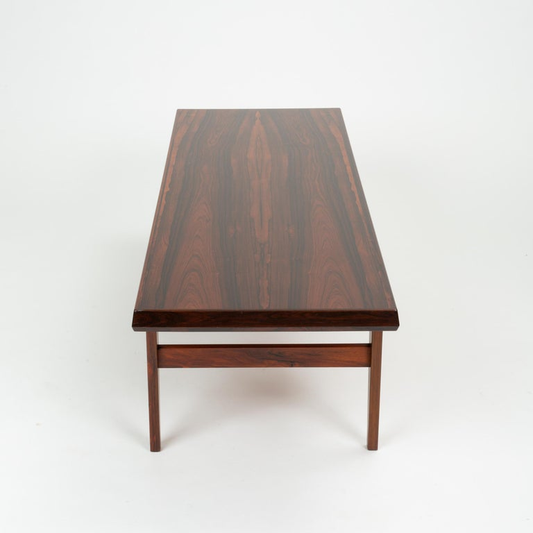 Niels Bach Rosewood Coffee Table For Sale 5