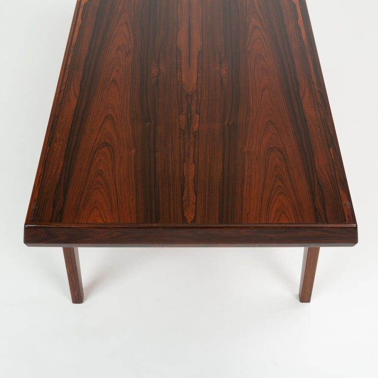 Niels Bach Rosewood Coffee Table For Sale 8
