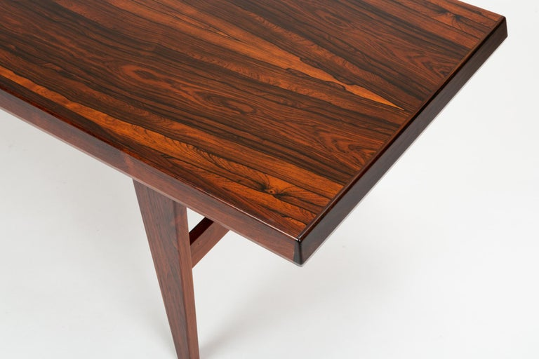 Niels Bach Rosewood Coffee Table For Sale 9