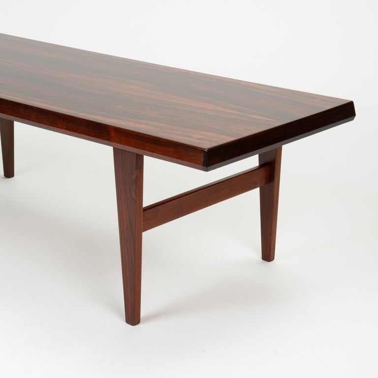 Niels Bach Rosewood Coffee Table For Sale 10