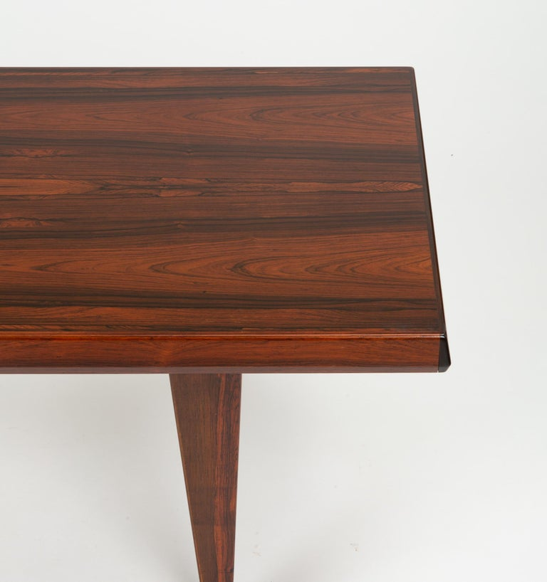 Niels Bach Rosewood Coffee Table For Sale 11
