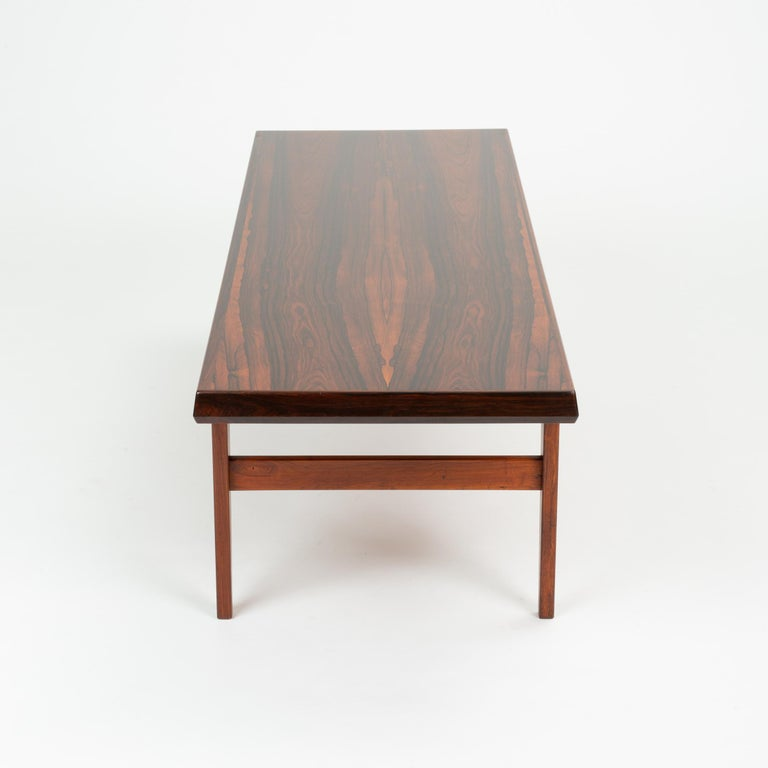 Niels Bach Rosewood Coffee Table For Sale 1