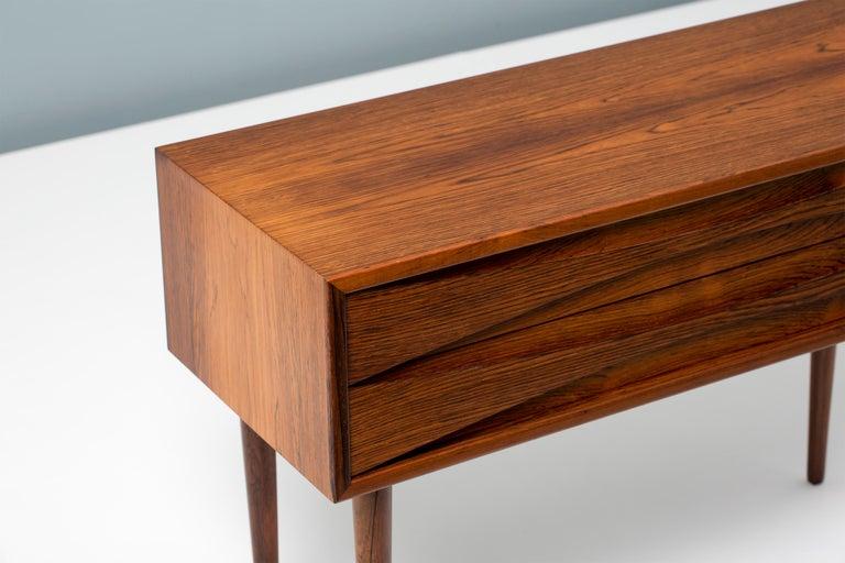 Scandinavian Niels Clausen Rosewood Bedside Cabinet, circa 1960 For Sale
