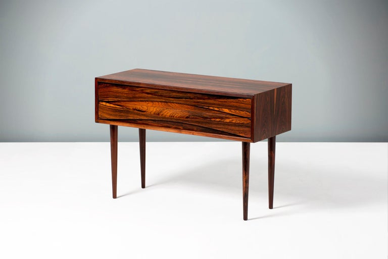 Niels Clausen Rosewood Bedside Cabinet, circa 1960 In Excellent Condition In London, GB