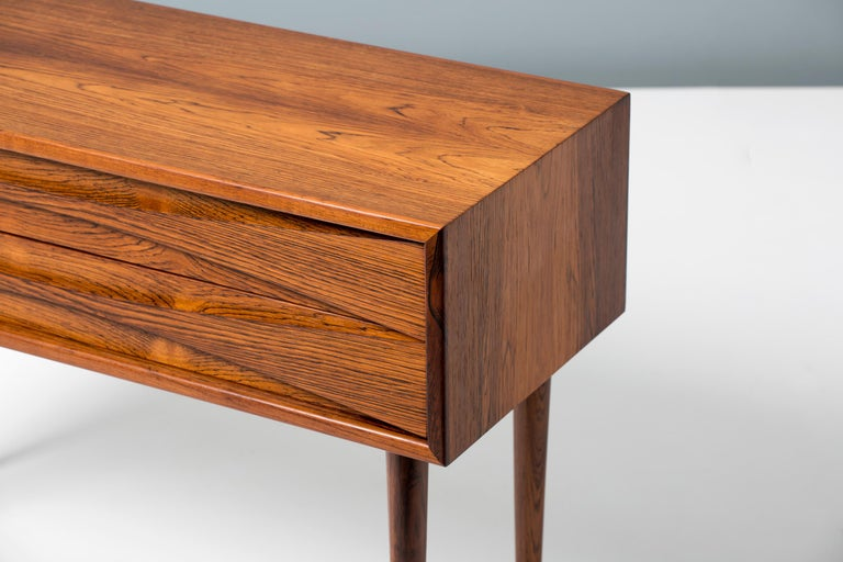 Mid-20th Century Niels Clausen Rosewood Bedside Cabinet, circa 1960 For Sale