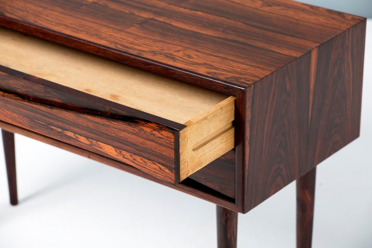 Niels Clausen Rosewood Bedside Cabinet, circa 1960 1