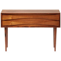 Niels Clausen Rosewood Bedside Cabinet, circa 1960