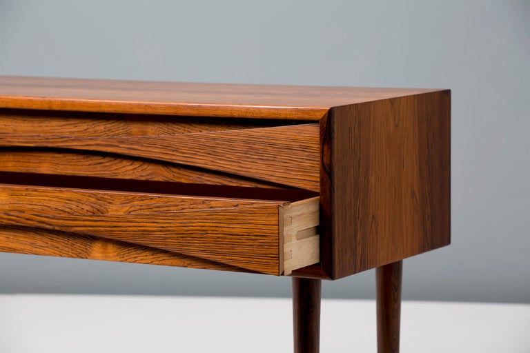Mid-20th Century Niels Clausen Rosewood Bedside Cabinets For Sale