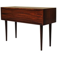Niels Clausen Rosewood Chest, Side or End Table