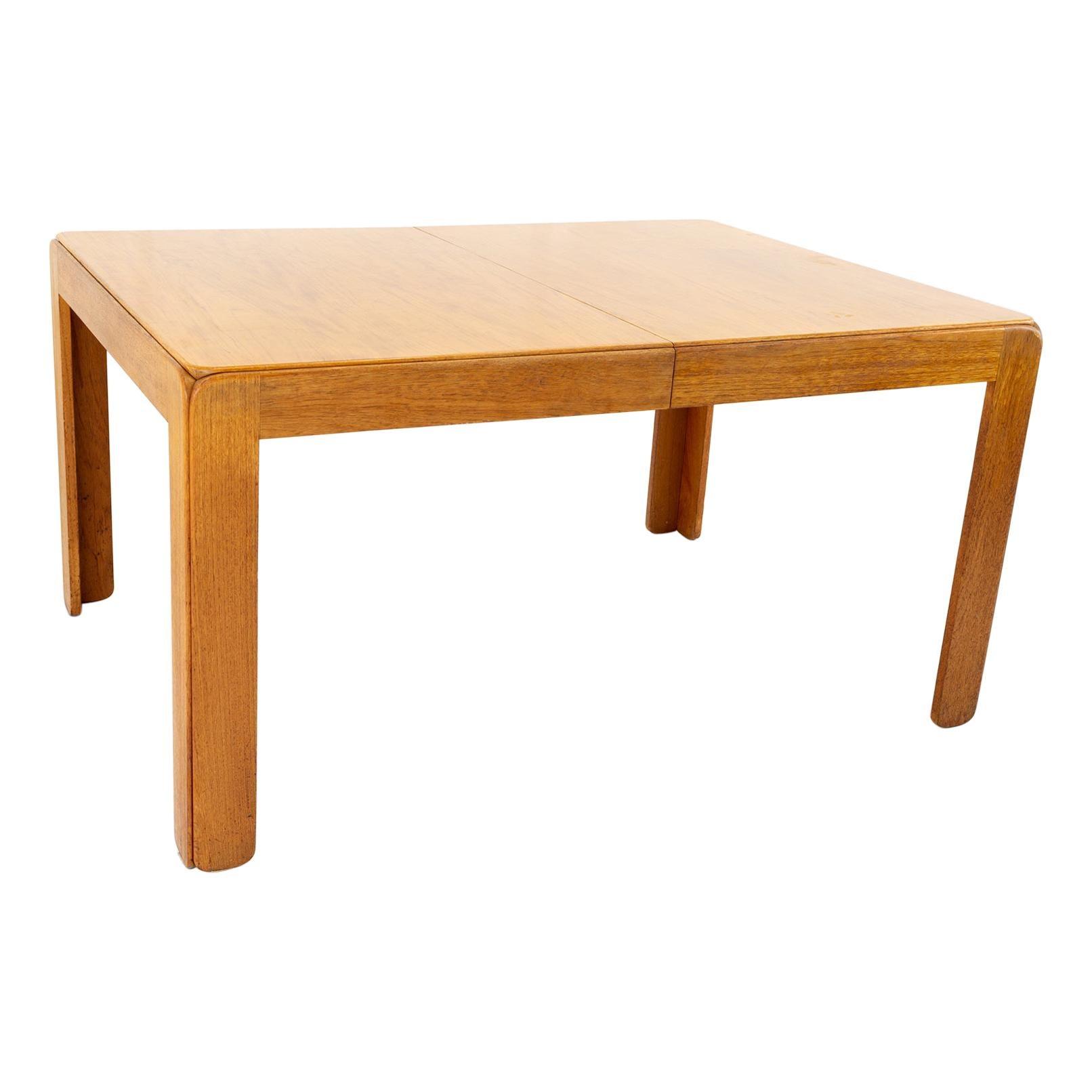 Niels Eilersen Mid Century Teak Expanding Dining Table