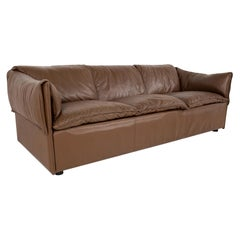 Niels Eilersen Midcentury Danish Leather Sofa