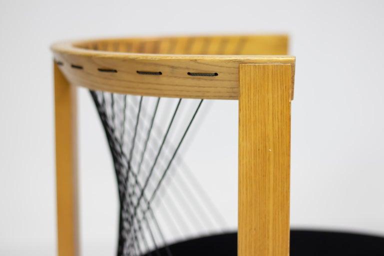 Mid-Century Modern Niels Jørgen Haugesen String Chair For Sale