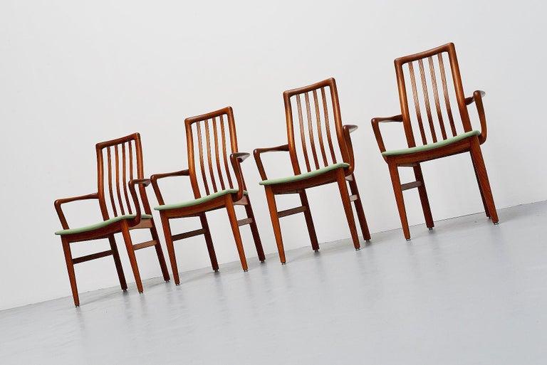 Mid-Century Modern Niels Koefoed Armchairs, Denmark, 1960