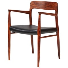 Niels Moller Model 56 Chair, Rosewood